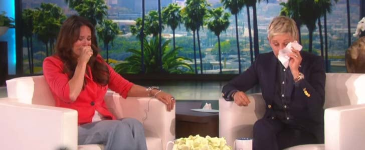Ellen DeGeneres Cries on Show With Teacher