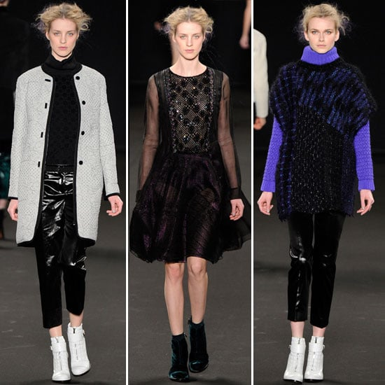 Review and Pictures of Vanessa Bruno Autumn Winter 2012 Paris Fashion Week Runway Show