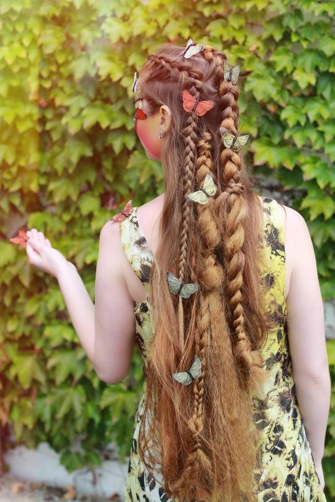 Garden Fairy Braids | Halloween Hair Costume Ideas | POPSUGAR Beauty ...