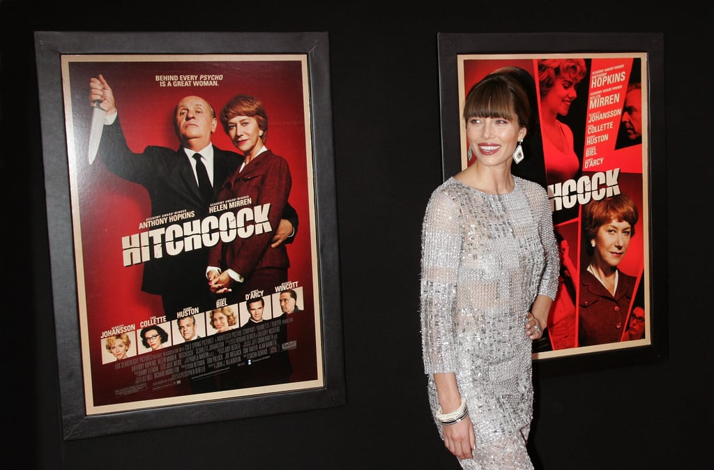 Jessica Biel stepped out in NYC for the Hitchcock premiere.