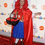 Jamie Lee Curtis attends the 18th annual Dream Halloween Los Angeles event as Little Red Riding Hood.