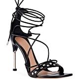 Alexander McQueen Lace-Up Tie High Sandals