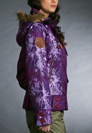 Gretchen Bleiler Mane Jacket, purple ($280)