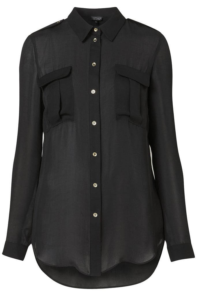 A Military Shirt For Day or Night