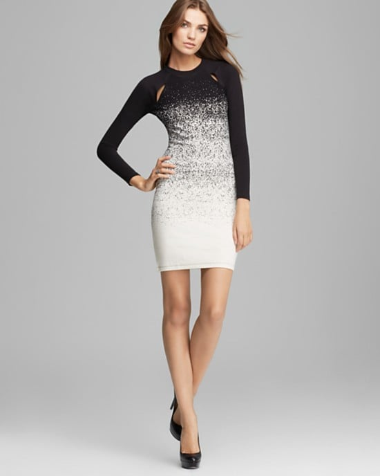 We love the pretty, seasonal feel on this French Connection Ombre Dust Jersey Dress ($148).