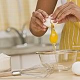 Freeze leftover eggs.