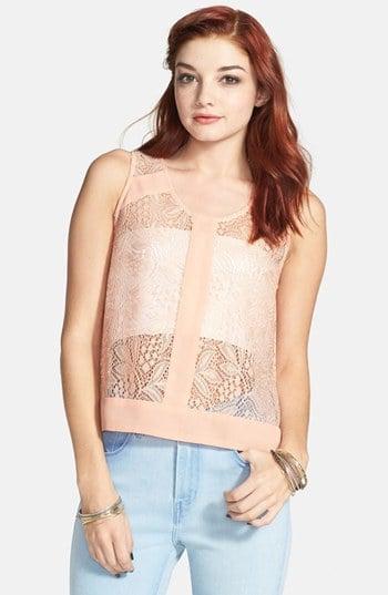 Elodie Crochet Tank ($34)