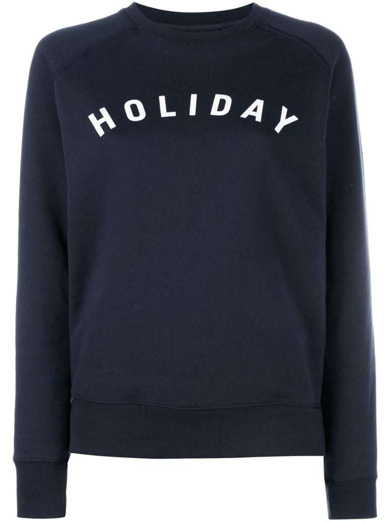 Holiday Logo-Printed Sweatshirt ($99)