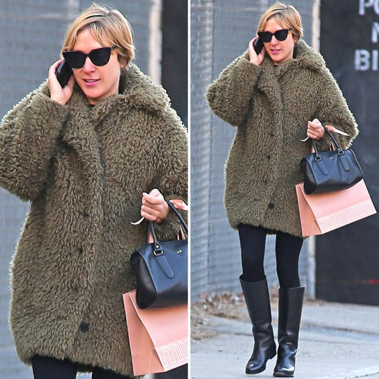 Chloë Sevigny gave us the inspiration for a cozy-chic way to layer up.