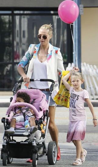Pictures of Heidi Klum, Leni Samuel, and Lou Samuel in LA