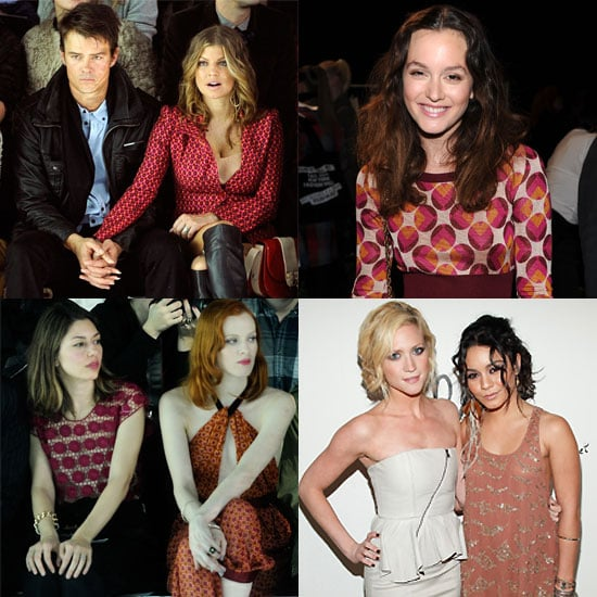 Celebrity Pictures From New York Fashion Week Fall 2011 Vanessa Hudgens, Christina Hendricks, Fergie, Josh Duhamel, Sofia Coppol