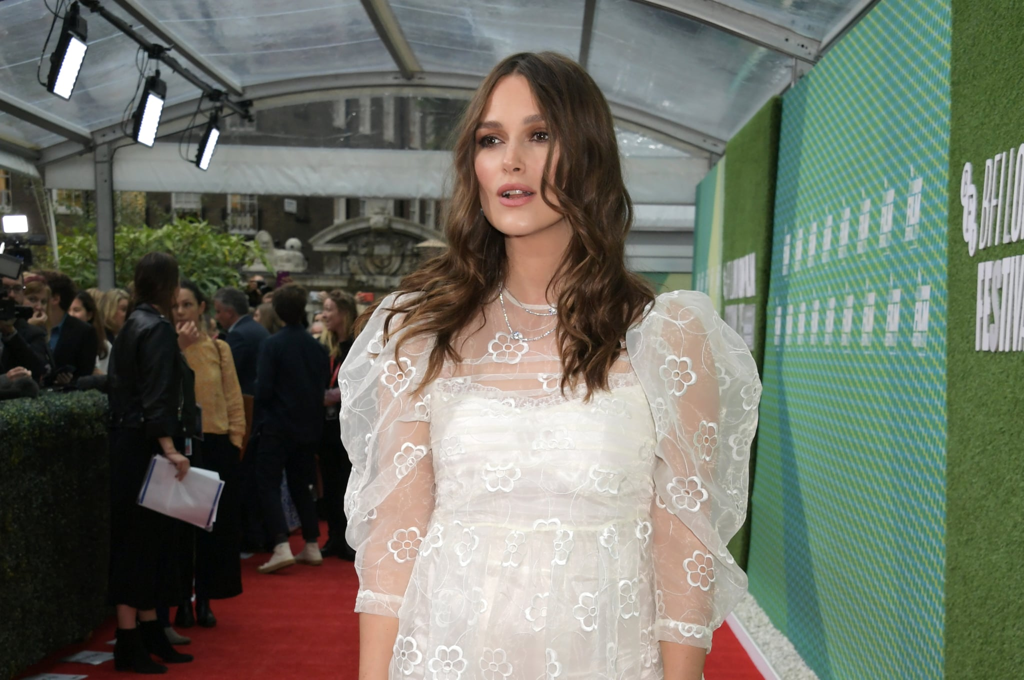 """Keira Knightley's Thoughts on Being a Tired Mom Zombie Are Hilarious: """"I've Just Sort of Been Led Here"""""""