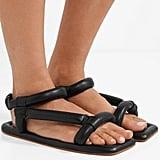 Nanushka Yola Faux Leather Sandals