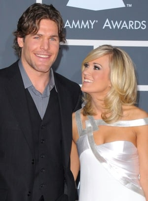 Pictures of Carrie Underwood and Mike Fisher Who Got Married This Weekend