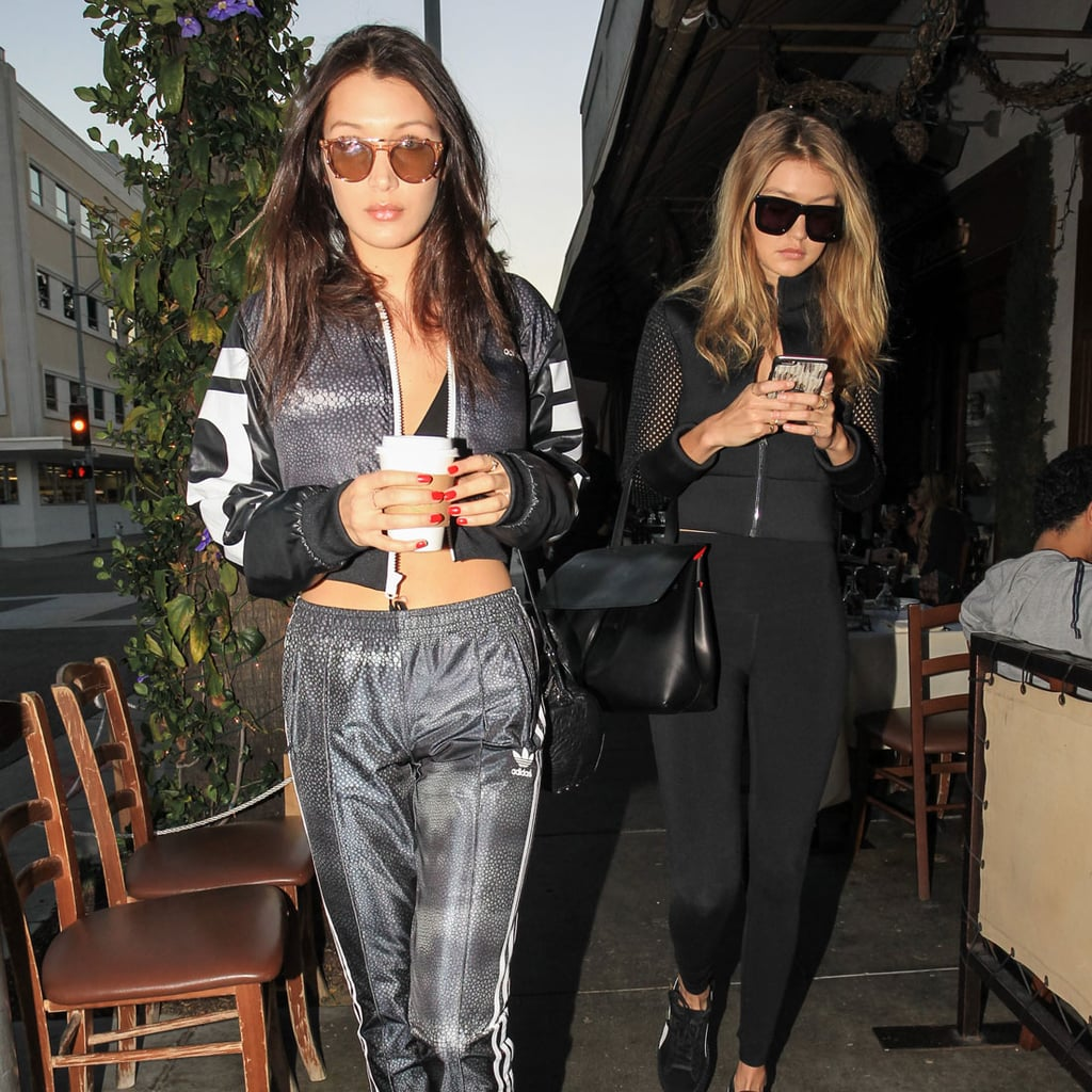 Gigi and Bella Hadid Athleisure Style