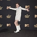 Millie Bobby Brown at the MTV Movie and TV Awards in 2017
