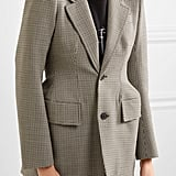 Balenciaga Hourglass Checked Blazer