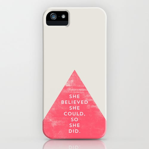 She Believed She Could by Allyson Johnson Smartphone Case