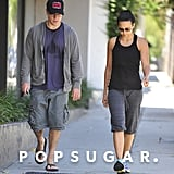 Matt Damon and Luciana went to Pilates together in LA.