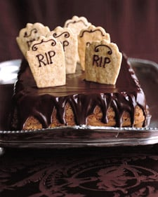 Come Party With Me: Halloween Dinner — Dessert