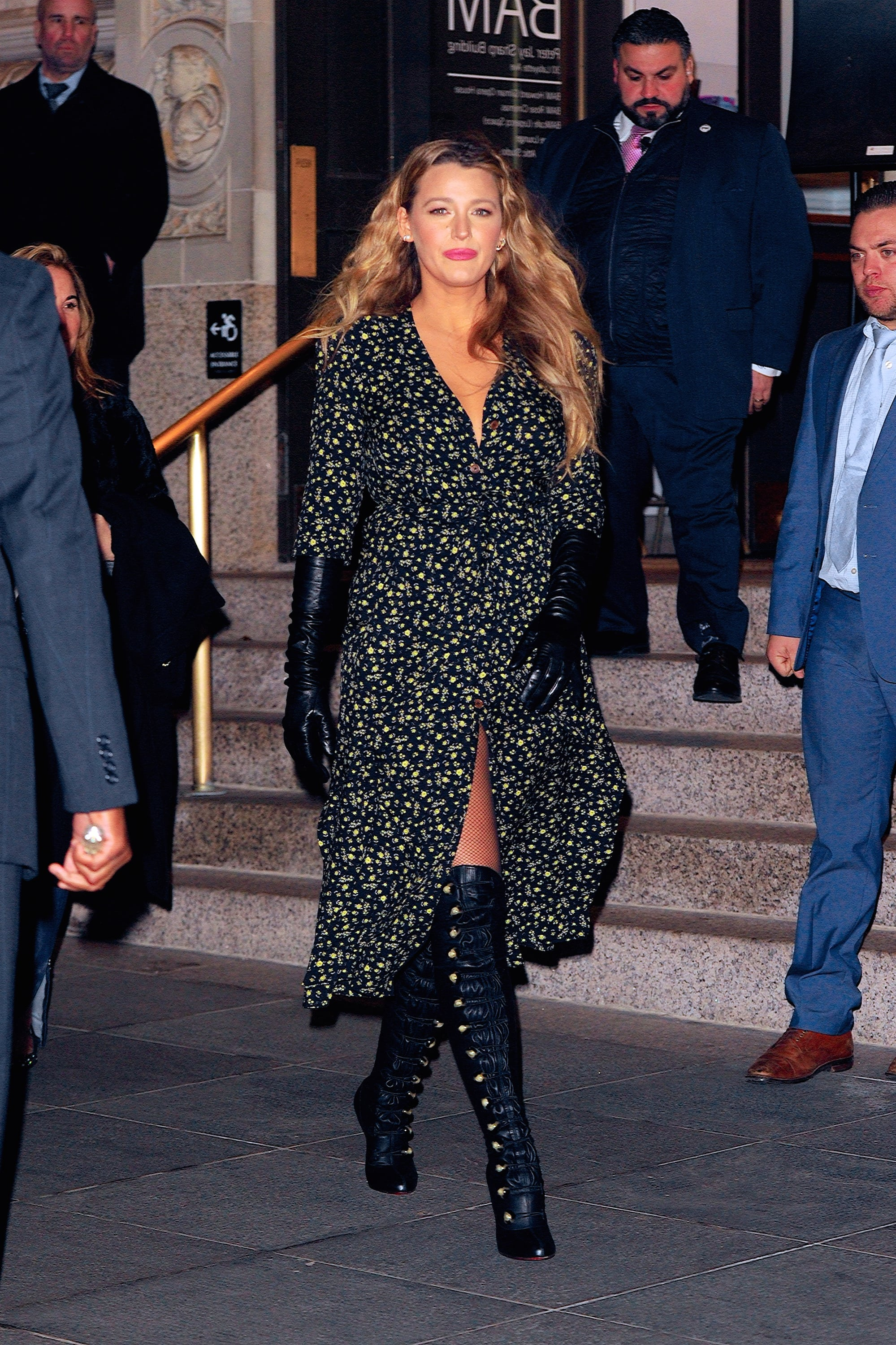 NEW YORK, NY - JANUARY 27:  Blake Lively seen out and about in Brooklyn on  January 27, 2020 in New York City.  (Photo by Robert Kamau/GC Images)