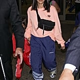 Kourtney's Prada Nylon Belt Bag