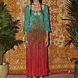 Rixo London Jeanie Ombre Butterfly Dress