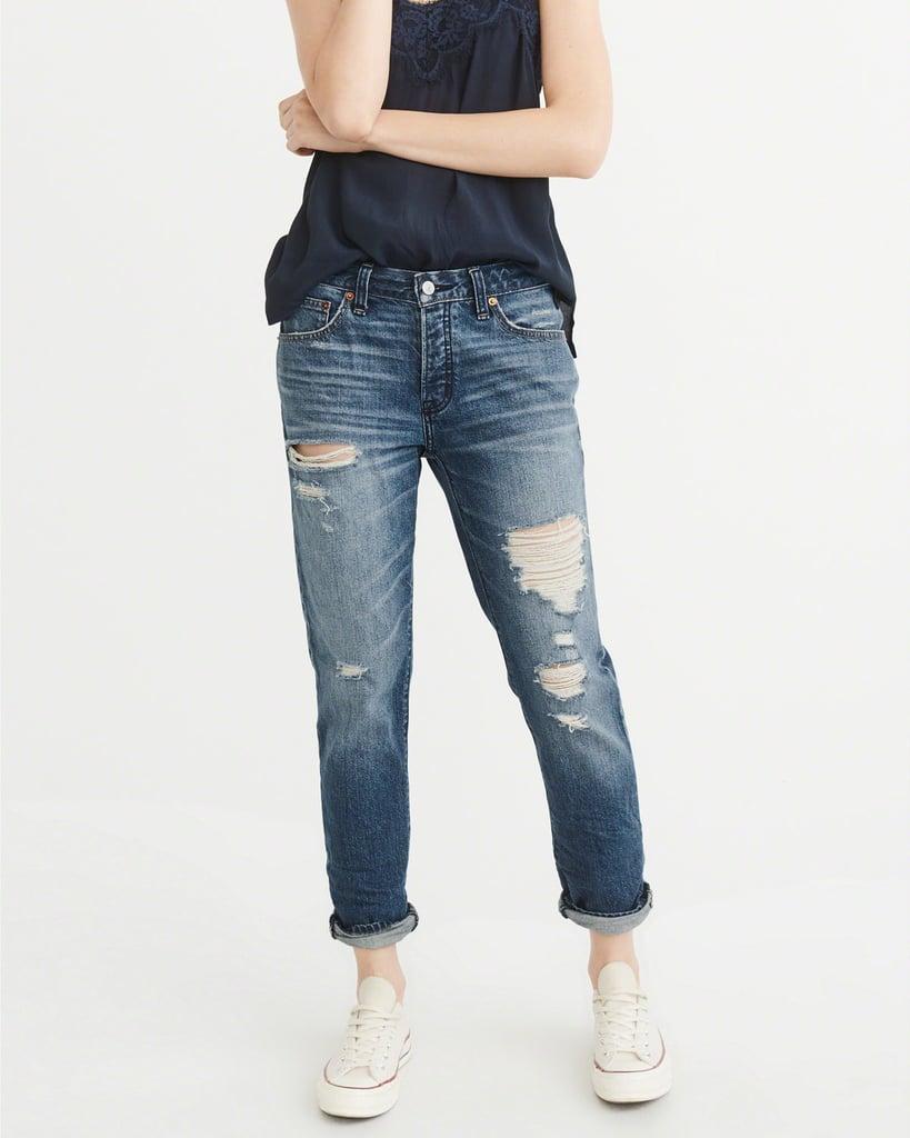 Low-Rise Slim Boyfriend Jeans Ames ($49, originally $88)