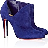 Christian Louboutin Lisse Suede Ankle Boots ($492 on sale)