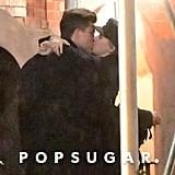 Scarlett Johansson and Colin Jost Kissing Pictures Nov. 2017