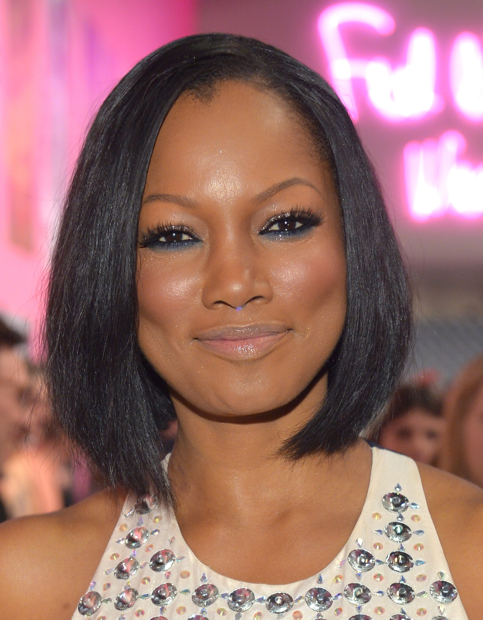 When applying eye makeup this weekend, channel Garcelle Beauvais and swipe a thick line of color under your lower lash line.