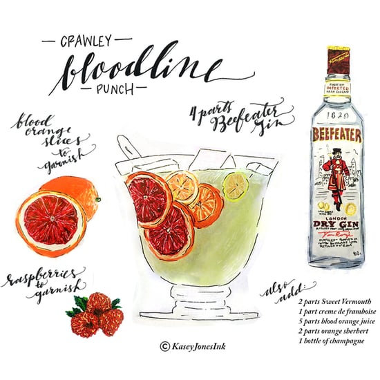 Downton Abbey Cocktail Recipes