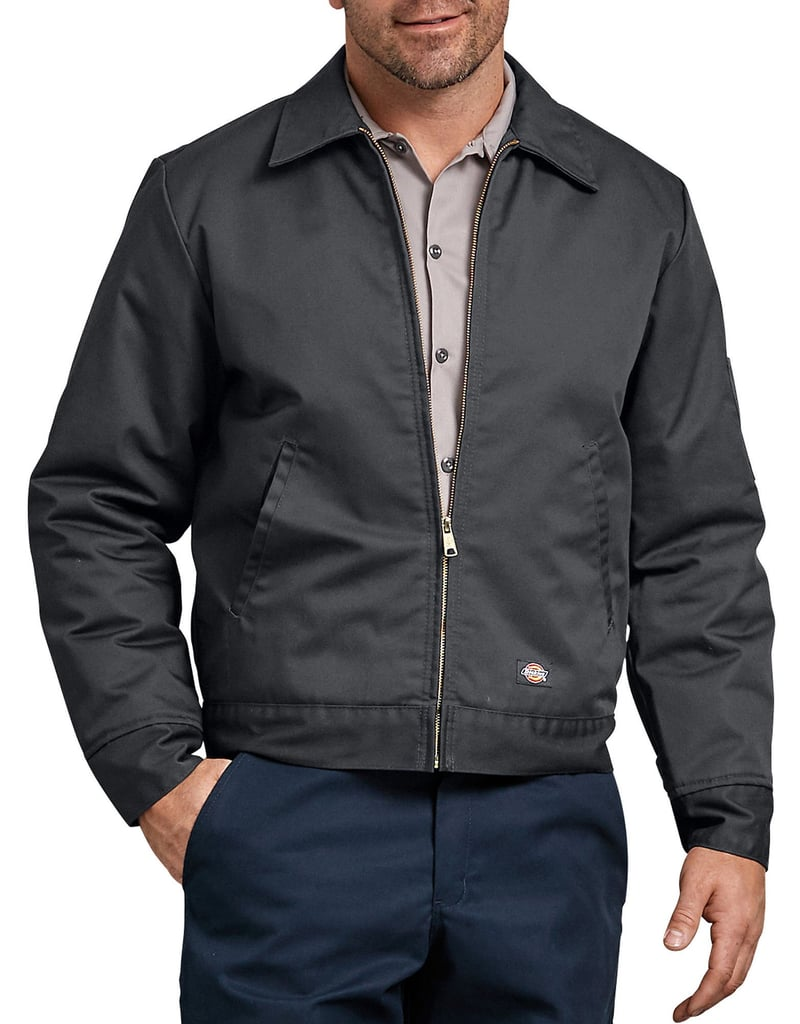 Dickies Lined Eisenhower Jacket in Charcoal Gray ($43)