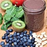 Gluten-Free: Blueberry Mango Kiwi Kale Smoothie
