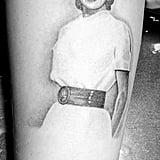Demi Lovato Grandma Tattoo