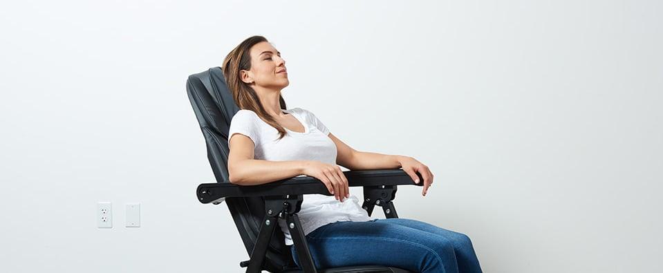 Folding Massage Chair on Amazon