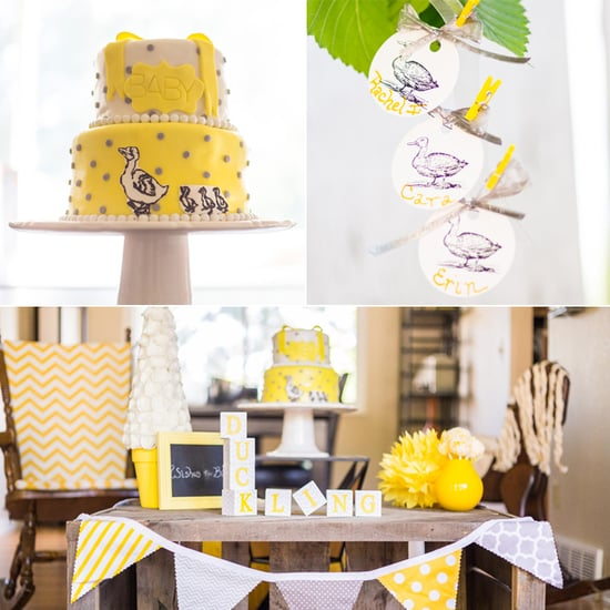 "Gender-Neutral ""Make Room For Ducklings"" Baby Shower"