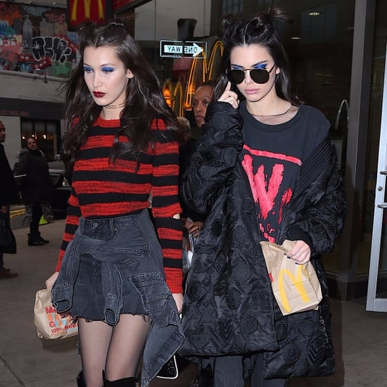 Kendall Jenner and Bella Hadid Anna Sui Show Fall 2017