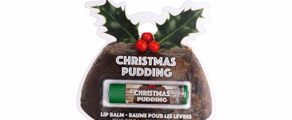 You're Guaranteed to Get a Kiss Under the Mistletoe With Christmas Pudding Lip Balm