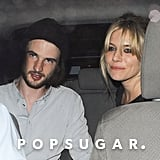 Tom Sturridge and Sienna Miller spent a night out in London.