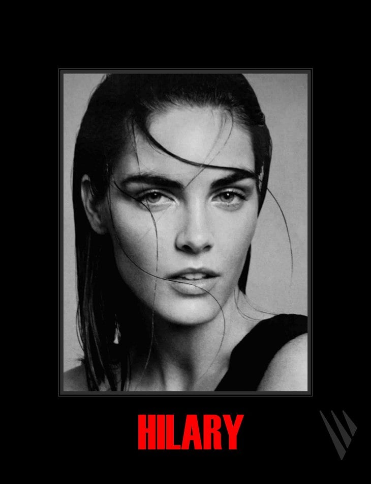 Hilary Rhoda's Spring 2011 showcard