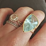 Play Up Your Set With an Aquamarine Cocktail Ring