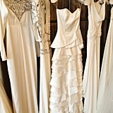 More detailing on Temperley Bridal's gown offerings.