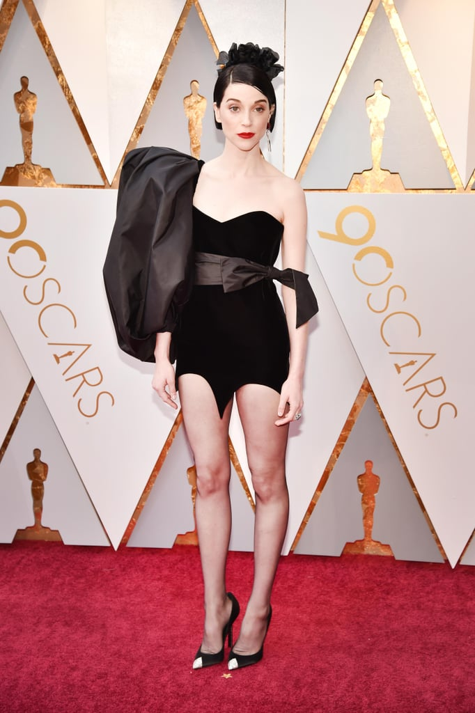 St. Vincent Showed Up to the Oscars Rocking an LBD That's Anything but Typical