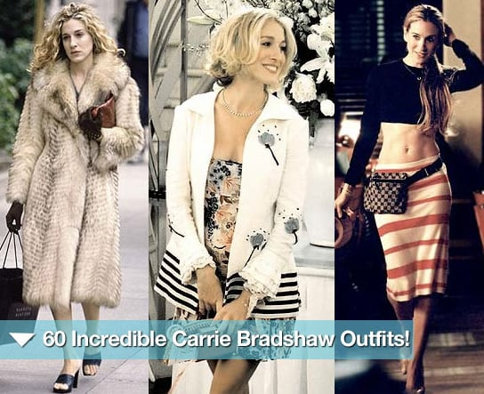 Take another trip down memory lane with 60 incredible Carrie Bradshaw outfits!