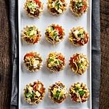 Slow-Cooker Loaded Mini Taco Bites