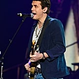 John Mayer performed at the ACM Awards.