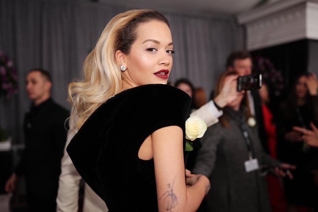 Rita Ora Hair and Makeup Grammys 2018