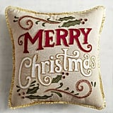 Merry Christmas Pillow ($30)