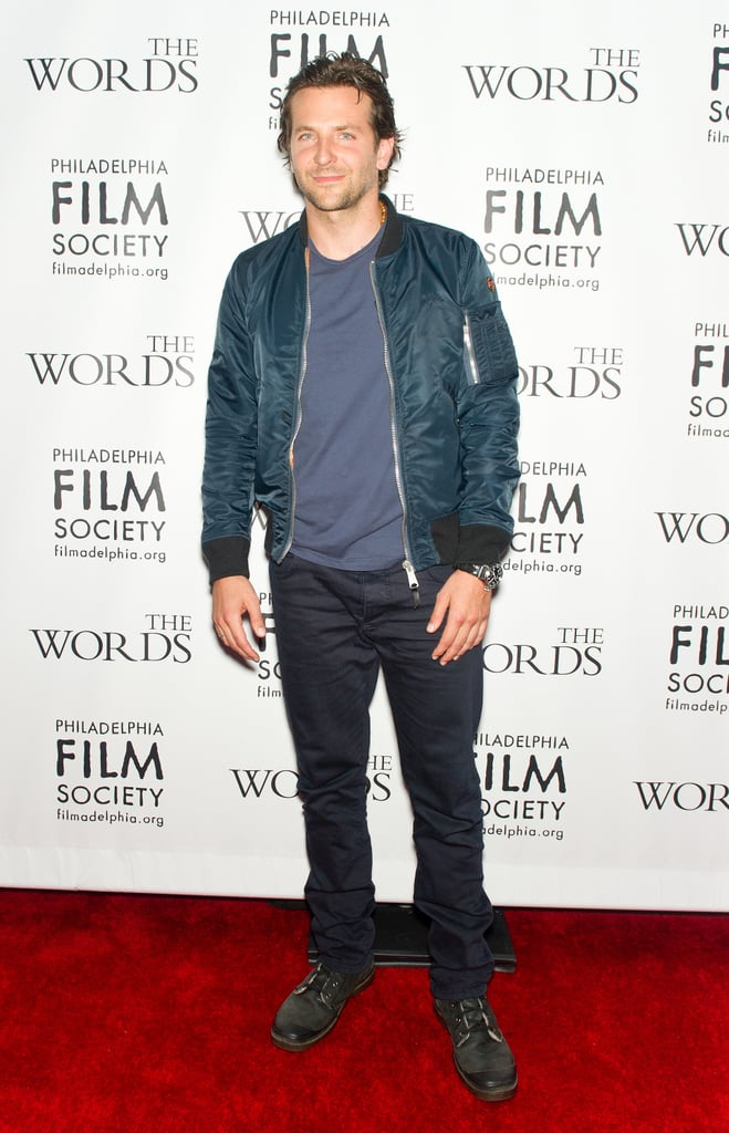 Bradley Cooper at The Words Premiere in Philadelphia